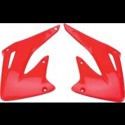 UFO Radiator Shrouds / Covers - Honda CRF450R / CRF450X (02-04)