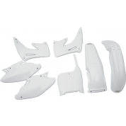 UFO PLASTIC BODY KITS , CR125R CR250R (02-03) WHITE