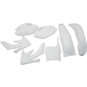UFO PLASTIC BODY KITS , CRF250R  (04-05) White