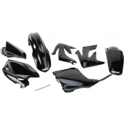 UFO PLASTIC BODY KITS , CRF250R  (2008) Black