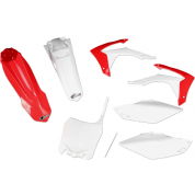 UFO PLASTIC BODY KITS ,CRF450R (13-15) CRF250R  (14-15) Red / White