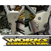 Works Connection Frame Guards - Honda XR250R