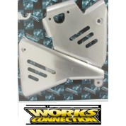 Works Connection Frame Guards - Honda XR600R (88-00)