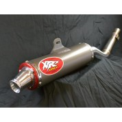 XRs Only Exhaust Pipe - Honda CRF150F CRF230F Stainless Steel