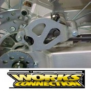 Works Connection Rear Caliper Guard - Honda CR125R / CR250R / XR650R