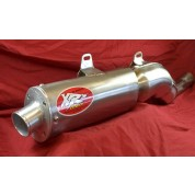 XRs Only Exhaust Pipe - Honda XR600R /XR650L - (88-UP) Stainless Steel