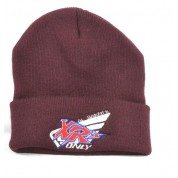 XRs Only Team Beanie Long (Burgundy) 04