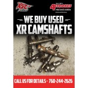 SHOP SERVICE: WE BUY USED CAMS XR MODELS ONLY