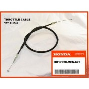 OEM Honda Throttle Cable (B) CRF450R, (2004) PUSH
