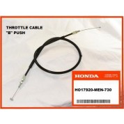 OEM Honda Throttle Cable (B) CRF450R, (2005) PUSH