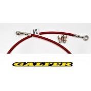 GALFER BRAKE LINE FRONT XR650R (00-07) RED