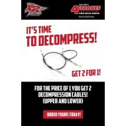 XR's Only Decompression Cable XR500R (83-84)