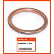 OEM Honda Exhaust Gasket CRF100F (04-13) CRF150R (07-14) CRF80F (04-13) XL250R (84-87) XR100R (92-03) XR200R (84-85) XR250L (91-96) XR250R (84-04)