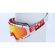 X BRAND SCATTER X / FADE GOX GOGGLES, Phantom Red/White