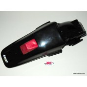 UFO Fender Rear With Lens - Honda XR650R - BLACK