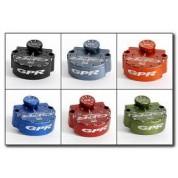 GPR Steering Stabilizer / Damper - Honda XR400R (96-04) XR600R (96-00) - V1 PRO FAT BAR KIT WITH UPPER TRIPLE CLAMP