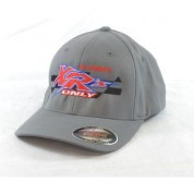 XRs Only Team Hat - Baseball Cap (Gray) 10  FLEXFIT