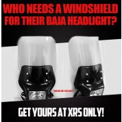 Windshield for Baja Head Lights