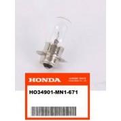 OEM Honda 12v 35w headlight bulb, XR200R (84-02) XR250R (84-04) XR400R (96-04) XR500R (83-84) XR600R (85-00) XR650R (00-07)