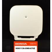 OEM Honda Front Number Plate, Z50R (88-99) White