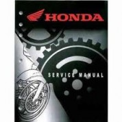 Honda OEM Factory Service Manual - Honda XR50R