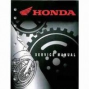 Honda OEM Factory Service Manual - Honda XR600R (1988-1992)