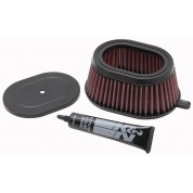 K&N Air Filter, Kawasaki KLR650 (87-16)