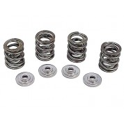 R&D Valve Spring Kit Chromoly Retainers - Honda XR400R - .400 LIFT