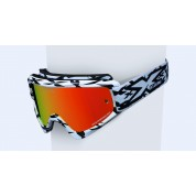 X BRAND SCATTER X / FADE GOX GOGGLES, Scatter X White