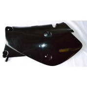 UFO Side Panel Set - Honda XR650R - BLACK
