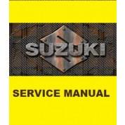 Suzuki OEM Genuine Service Manual - DR650SE (96-16)