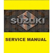 Suzuki OEM Genuine Service Manual - DR-Z125,  DR-Z125L (03-16)