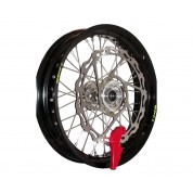 Warp 9 Racing Supermoto Front Wheel - Honda CR125R CR250R (95-03) CR500R (95-01) CRF450R CRF450X (02-03)