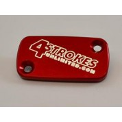 4 Strokes Unlimited Brake Resevoir Cover Front - Honda CR80/85/125/250/500 / CRF150/230/250/450R/X / XR250R / XR400R / XR650R