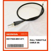 OEM Honda Throttle Cable (B) XR600R, (88-00) PUSH