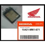 HONDA XR650L (1991-2008) OEM FACTORY PARTS - CRANKCASE - SCREEN, OIL FILTER