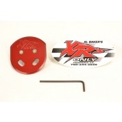 XRs Only Billet Choke Plate - Honda XR400R XR600R