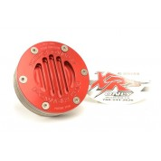 XRs Only Exhaust Pipe Power-Up Tip 12-Disk System - RED