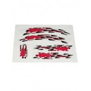 XRs Only Dirt Bike Graphics Decal Kit - RED