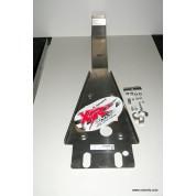 XRs Only Skid Plate - Honda TRX450R - Swingarm Skid