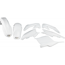 UFO PLASTIC BODY KITS , CR125R CR250R (05-07) WHITE