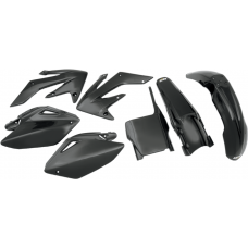 UFO PLASTIC BODY KITS , CRF250R  (04-05) Black