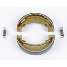 EBC Brakes Carbon Front / Rear Brake Shoes - Honda CR125R(83)FRONT XR350R(83) REAR: CR125(84-85)/CR250(83-85)/CR480/CR50
