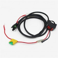 Baja Designs Wiring Harness & Switch, Honda CRF450X, CRF250X
