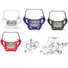 Acerbis DHH DOT Certified Dual Sport Headlight