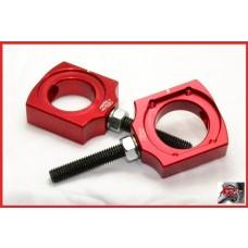 XRs Only Chain Adjuster Blocks CRF450 X (05-09) CRF450R (02-13) CRF250X (04-09) CRF250R (04-13) CR250R (00-07) CR125R (00-07)