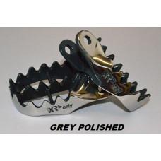 XRs Only Foot Pegs - Honda XR250R (96-UP) XR400R (96-04) XR600R (88-00) XR650L (93-17) CRF230L (All Yrs) CRF1000L (All Yrs)  (Gray & Red)