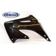 """BLOW-OUTS"" Cemoto Shrouds, CR 125 CR250 (02-07)  BLACK"