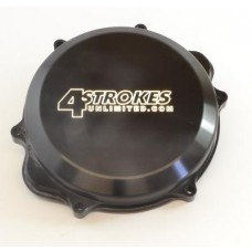 4 STROKES UNLIMITED T6 Billet Aluminum Clutch Cover - Honda CRF450X
