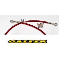 GALFER BRAKE LINE REAR XR650R (00-07) RED